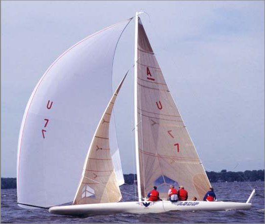 A Scow photo on sailboatdata.com