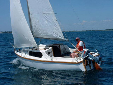 SailboatData  ALACRITY 19    Sailboat