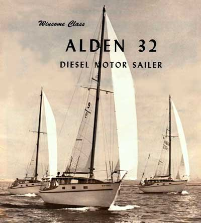 Alden 32 (Cheoy Lee) photo on sailboatdata.com
