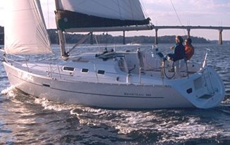 Beneteau 323 photo on sailboatdata.com