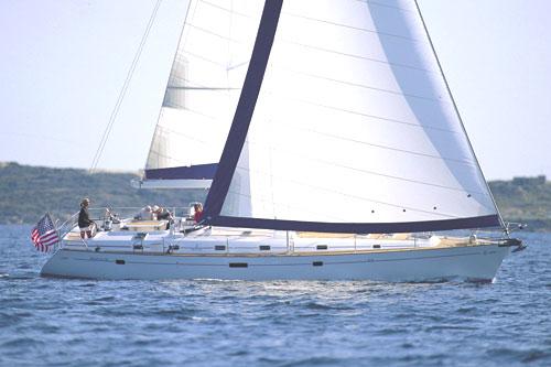 Beneteau 50 Under Sail