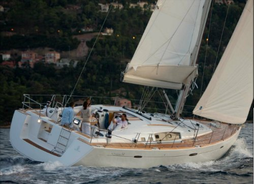 Beneteau 54 photo on sailboatdata.com