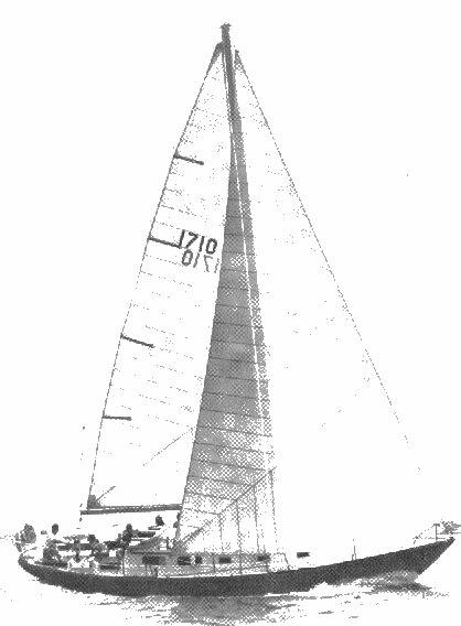 SailboatData com - BRISTOL 40 Sailboat