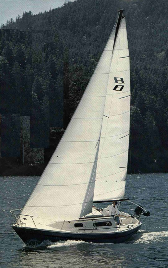 Buccaneer 250 photo on sailboatdata.com