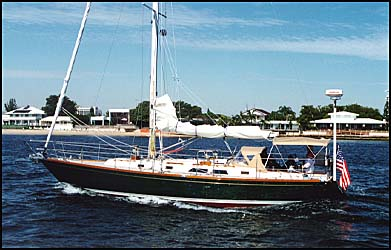 Cambria 40 photo on sailboatdata.com