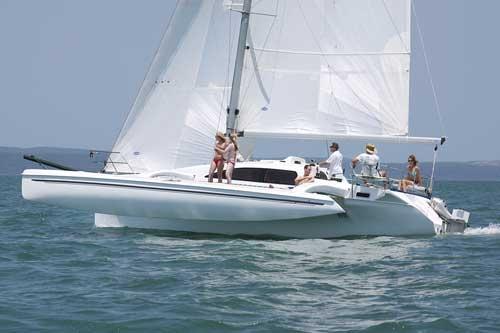 SailboatData com - CORSAIR 36 Sailboat