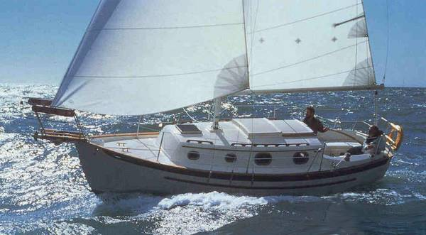 Dana 24 photo on sailboatdata.com