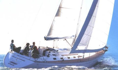 Dufour 45 Classic photo on sailboatdata.com