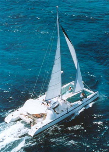Dufour-Nautitech 82 catamaran on sailboatdata.com