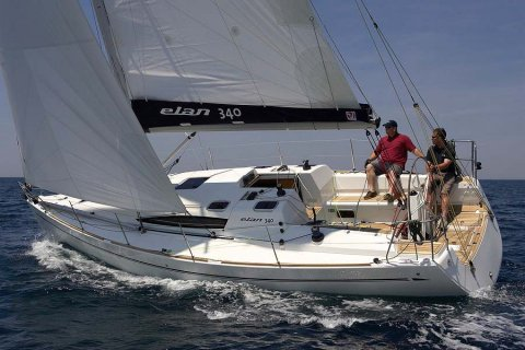 Elan 340 photo on sailboatdata.com