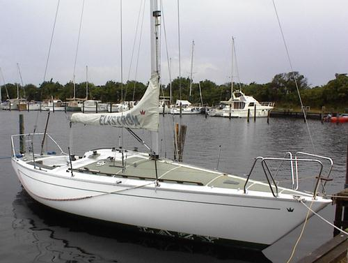 Elvstrom 31 photo on sailboatdata.com
