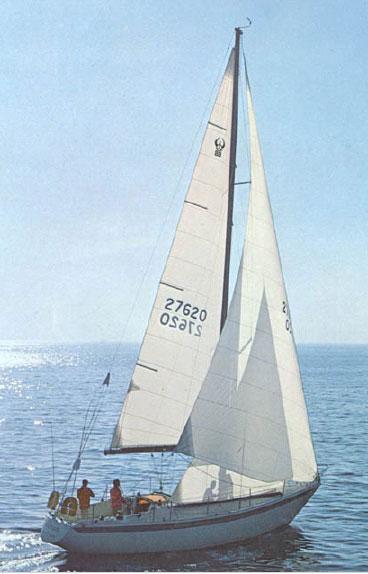 SailboatData  ERICSON 39 Sailboat