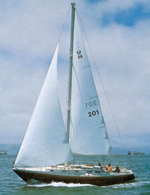 Ericson 39b photo on sailboatdata.com