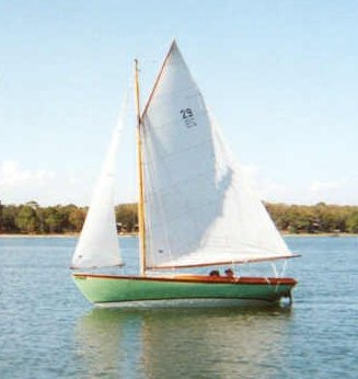 Fish (Herreshoff) photo on sailboatdata.com