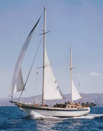 Formosa 51 sailboat specifications and details on for 68 garden design gaff rigged schooner