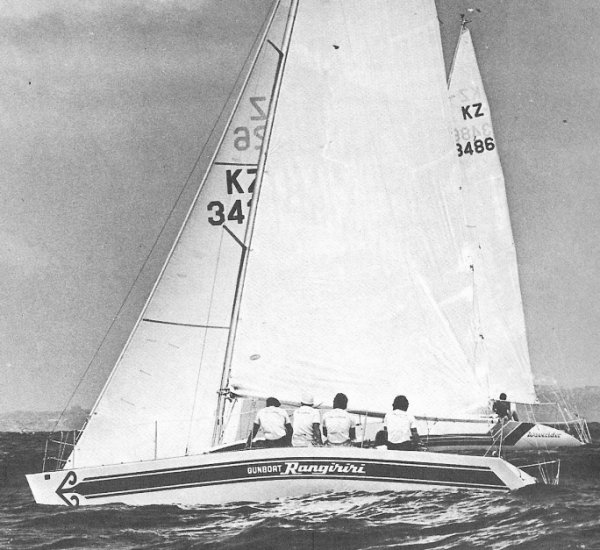 Gunboat Rangiriri on sailboatdata.com