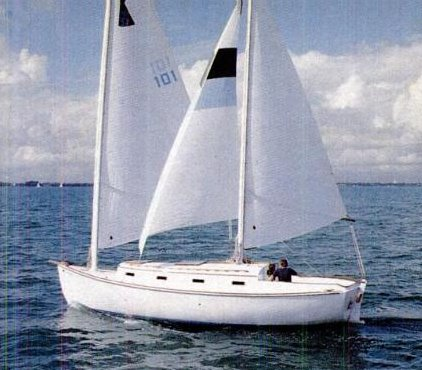 Herreshoff 31 Cat Ketch photo on sailboatdata.com