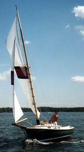 Herreshoff Eagle photo on sailboatdata.com
