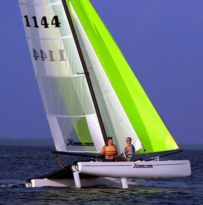 Hobie Tiger photo on sailboatdata.com