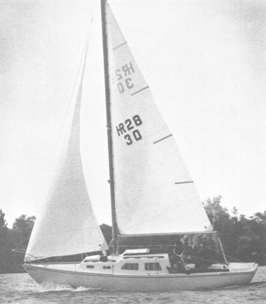 HR-28 photo on sailboatdata.com