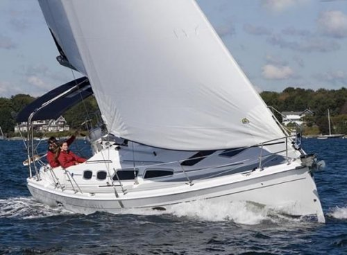 Hunter 36-2 photo on sailboatdata.com