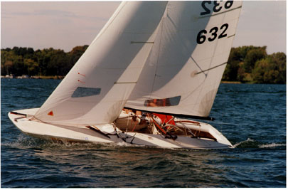 Inland 20 Scow photo on sailboatdata.com
