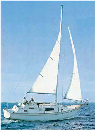 Irwin 32.5 photo on sailboatdata.com