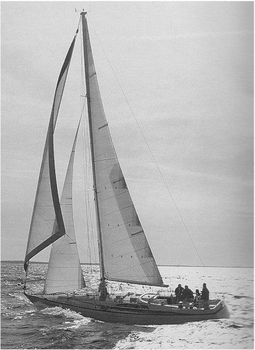 Kaufman 47 photo on sailboatdata.com