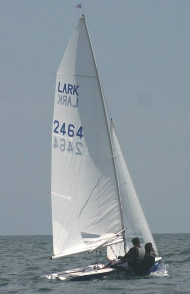 Lark 13 photo on sailboatdata.com