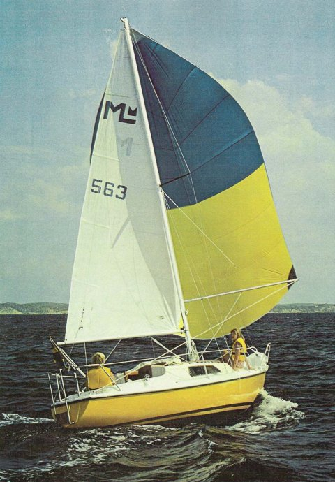 Magnifik Midget photo on sailboatdata.com