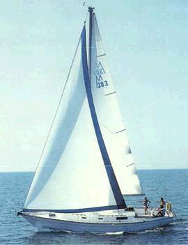 Morgan 383 photo on sailboatdata.com