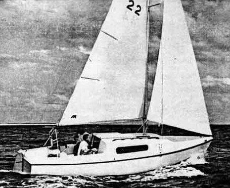 SailboatData.com - MORGAN 22 Sailboat | 465 x 380 jpeg 46kB