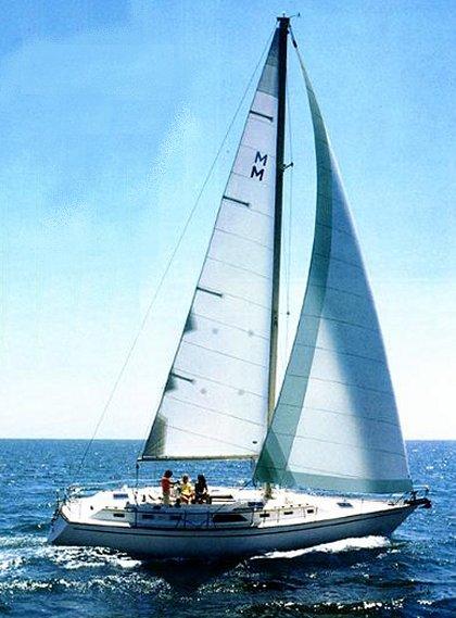 SailboatData.com - MORGAN 43 Sailboat | 420 x 569 jpeg 51kB