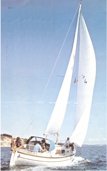 Nordica 30 photo on sailboatdata.com