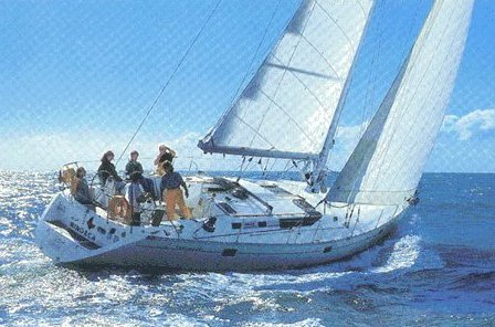 Oceanis 500 (Beneteau) photo on sailboatdata.com