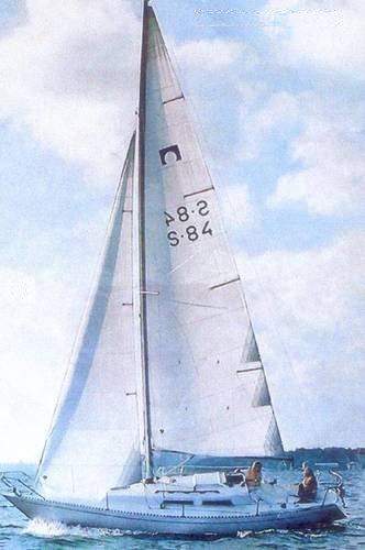 Omega 28 photo on sailboatdata.com
