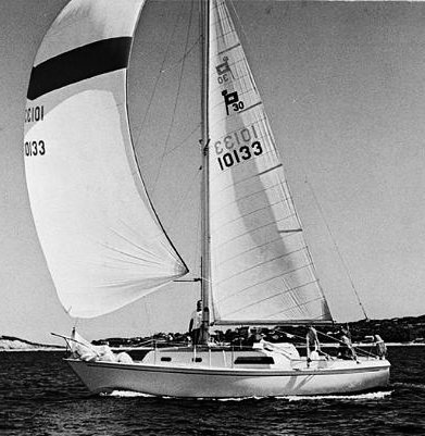 Pearson 30 photo on sailboatdata.com