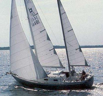 Pearson 365 photo on sailboatdata.com