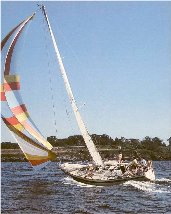 Pearson 40 photo on sailboatdata.com
