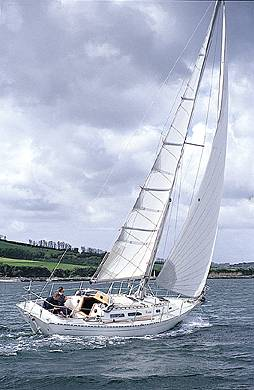 Rustler 36 photo on sailboatdata.com