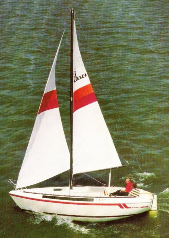 S2 6.8 (EXCITER) photo on sailboatdata.com