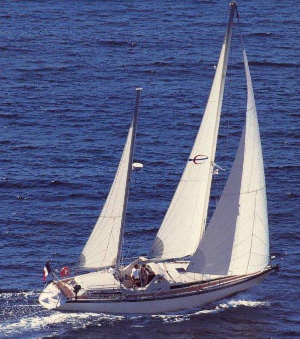SailboatData com - SANTORIN 46 (AMEL) Sailboat