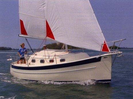 SailboatData com - SEAWARD 25 Sailboat