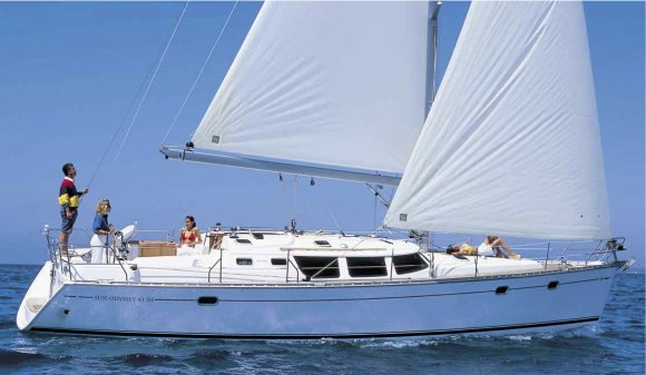 SUN ODYSSEY 43 DS (JEANNEAU) photo