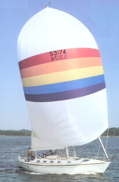 SailboatData.com - TARTAN 40 Sailboat | 400 x 609 jpeg 45kB