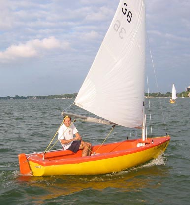 Tech Dinghy photo on sailboatdata.com