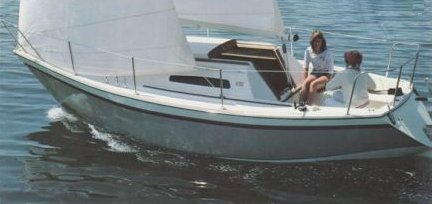 Triton 25 photo on sailboatdata.com