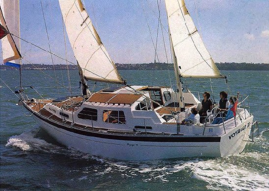 Voyager 38 (Trident) photo on sailboatdata.com