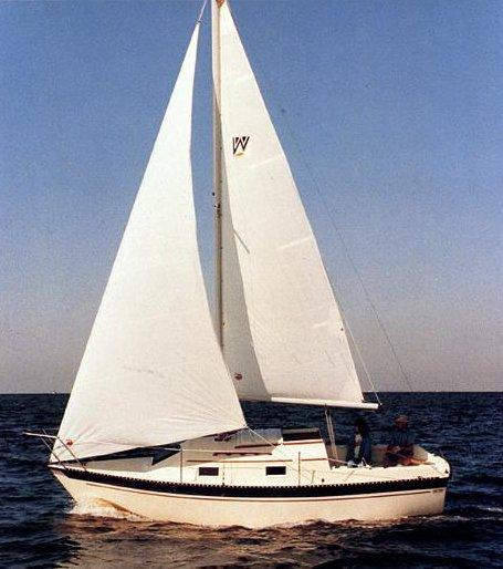SailboatData com - WATKINS 25 Sailboat