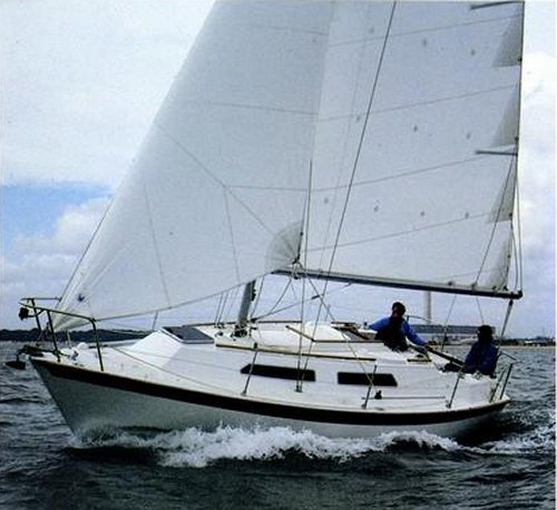 Merlin 28 (Westerly) photo on sailboatdata.com